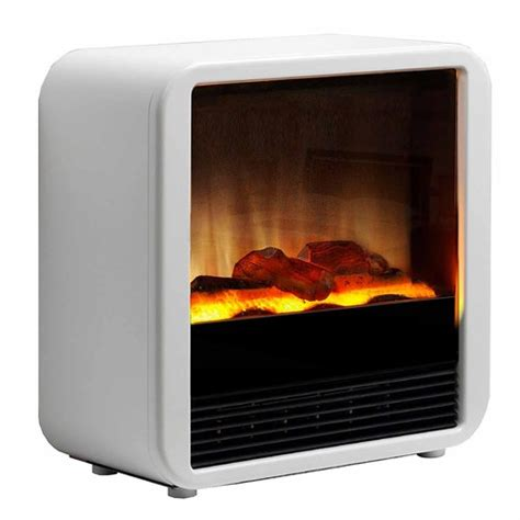 dimplex cube kw portable electric fire  optiflame log