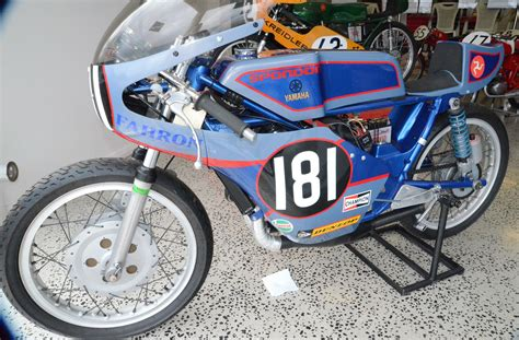 Spondon Yamaha, 50cc. Race Bike