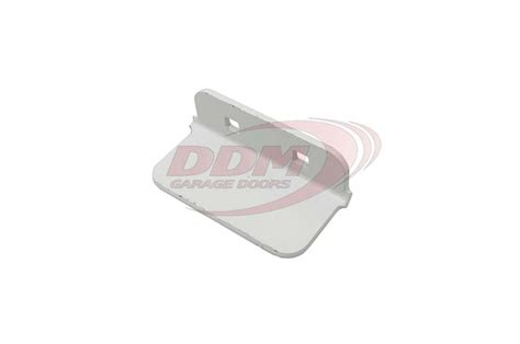 ddm garage doors step plate white powder coat for raynor part st