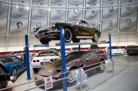 corvette museum commemorates sinkholes  anniversary