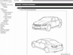 Lexus Ls600h Repair Manual 09 2012  08 2015