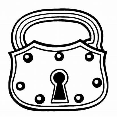 Lock Key Locks Skeleton Clipart Steampunk Clip