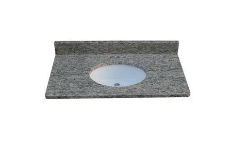 tuscany 49 quot x 22 quot 3 cm granite vanity top at menards 174