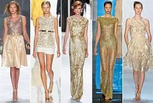 Spring 2013 Runway Trend: Gold Eveningwear - Spring 2013's ...