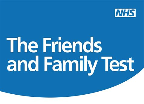 Image result for friends and family test nhs