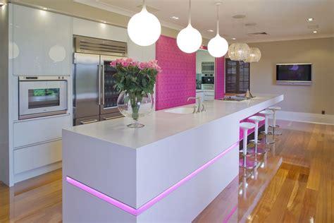 light pink kitchen 17 light filled modern kitchens by mal corboy 3758