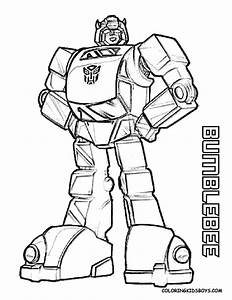 Bumblebee Transformers Coloring Pages >> Disney Coloring Pages
