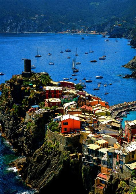 Vernazza Cinque Terre Italy Places To Travel Places