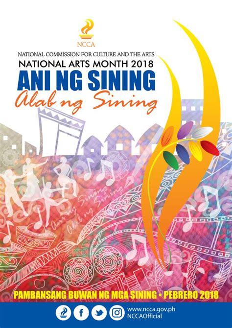 ncca fires  celebration  national arts month  february