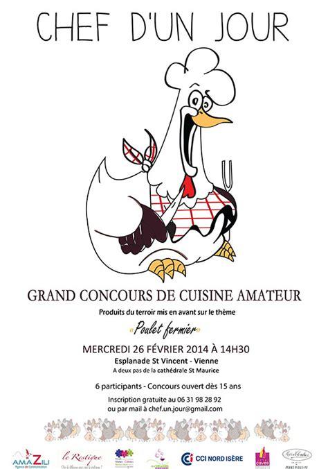 chambre de commerce isere amazili partenaire du concours de cuisine chef d 39 un jour