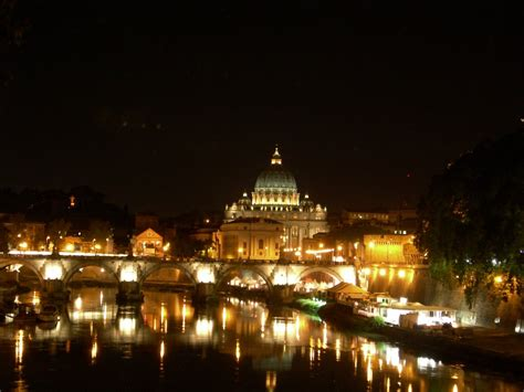 Photo Of Vatican City At Night