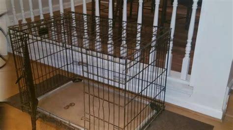 diy  hated     big dog crate   living