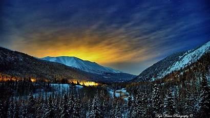 Alaska Wallpapers Spring Winter 1080p Night