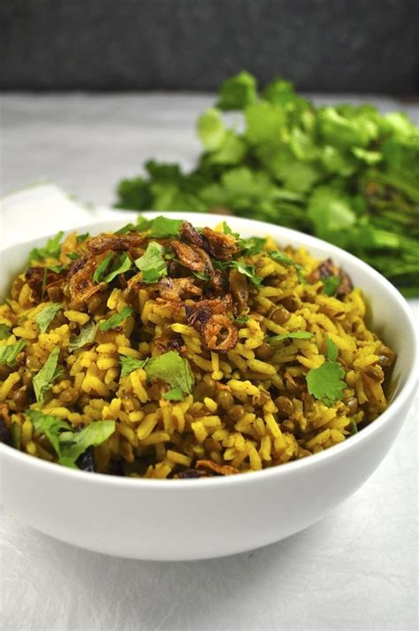 Middle east recipe rice pilaf a lebanese rice dish 8. Middle Eastern Spiced Lentil and Rice (Mejadra) | Recipe ...