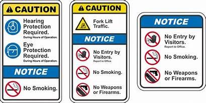 Safety Ansi Signs Z535 Format Standard Standards