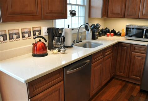 quartz countertops colors for kitchens dupont zodiaq countertop installation review one 7622