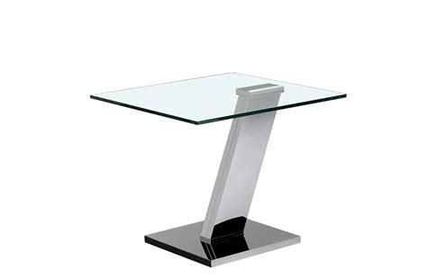 table bout de canape en verre design bout de canap kare