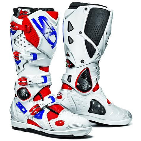 blue dirt bike boots sidi crossfire 2 srs mx enduro moto x motocross off road