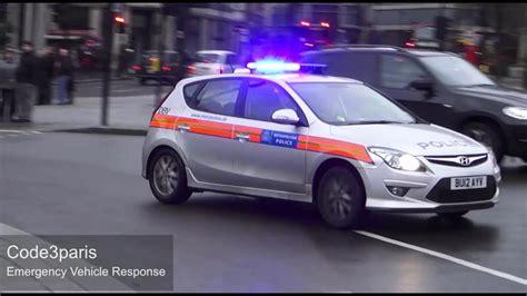 London Metropolitan Police Car