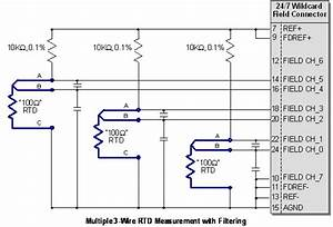 Rtd Amplifier Circuit  Measuring Rtds  Connecting Rtd To