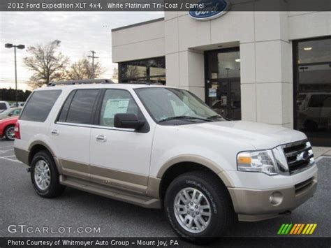 2012 Ford Expedition Xlt by White Platinum Tri Coat 2012 Ford Expedition Xlt 4x4