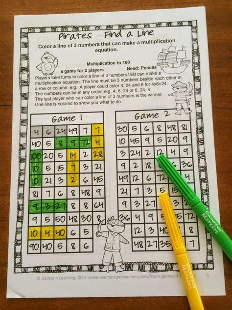 prep multiplication games  fact fluency