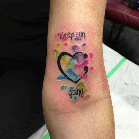 semicolon tattoo designs ideas design trends