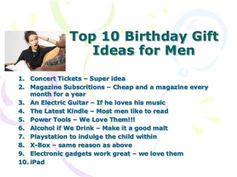 50th birthday gift ideas for man who has everything gift