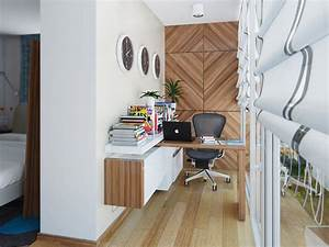 Home office design ideas for small spaces startupguysnet for Decorating ideas for small home office