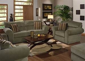 Jackson furniture mesa 3 piece living room set in quotsage for 3 piece living room furniture set