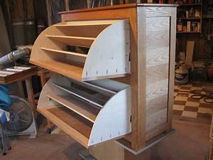 Double Shoe Rack Cabinet