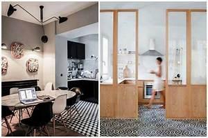 des carreaux de ciment pour decorer votre interieur With carreaux de ciment cuisine sol