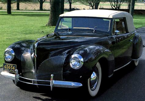 Lincoln Zephyr Continental Cabriolet 1939–40 Photos