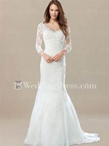 wedding dress 3 4 sleeve With wedding dress 3 4 sleeve