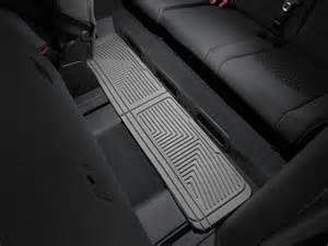 weathertech 174 all weather floor mats chevrolet traverse