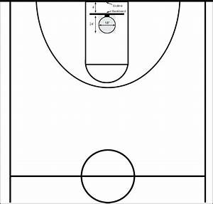 Diagram  Printable Basketball Court Diagram Layout