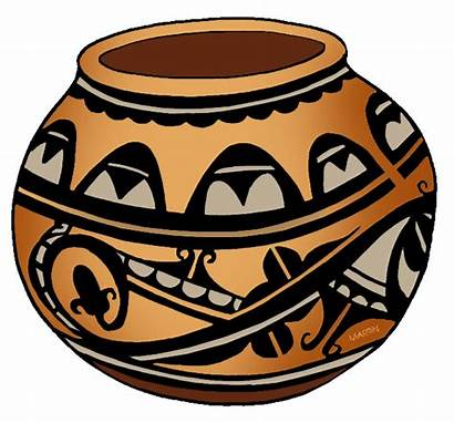 Pottery Clipart Clip Native American Sw Southwest