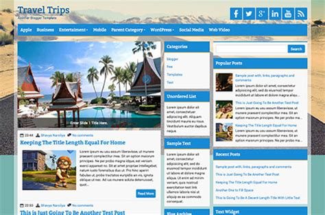 blogspot templates   world
