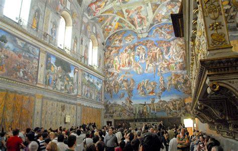 le plafond de la chapelle sixtine visiter la chapelle sixtine horaires tarifs prix acc 232 s