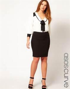 Vetement Pour Les Rondes : tenue chic femme ronde photos de robes ~ Preciouscoupons.com Idées de Décoration