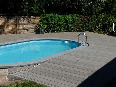 terrasse mit pool deryckere handwerk deryckere handwerk holz