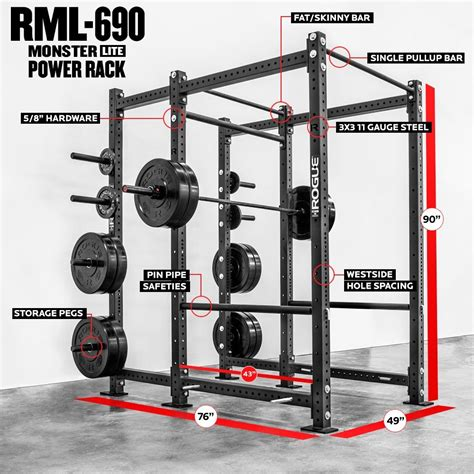 rogue rml  power rack power rack gym rack rogue fitness