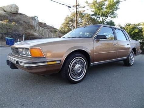 86 buick century limited sedan 2 5l 4cyl for sale