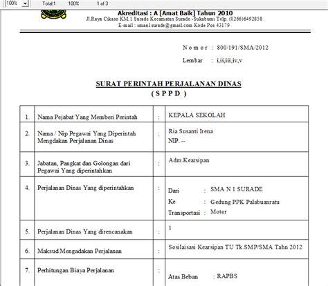Surat Sppd by Program Surat Tugas Dan Sppd V 1 0 1 Silabus Rpp Sd
