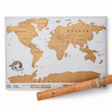 Pochoir Carte Du Monde by Carte Du Monde 224 Gratter Scratch Map Luckies Of