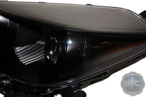 toyota yaris hatchback black hid projector headlamps