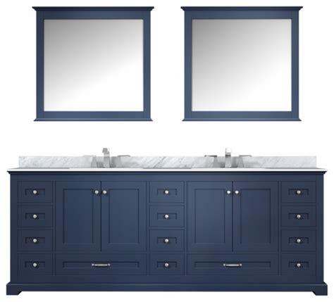 navy blue double sink bathroom vanity choice