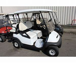 2005 Club Car Precident White Electric Golf Cart With