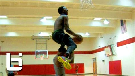 Kwe Parker Does John Wall's NBA Dunk Contest Dunk with ...