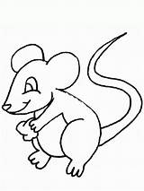 Coloring Mouse Pages Printable sketch template